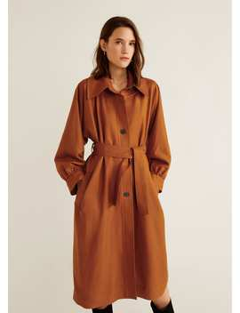Trench Manches Bouffantes by Mango
