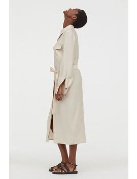 Lyocell Blend Shirt Dress by H&M