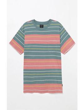 Rvca Rusholme Stripe Pocket T Shirt by Pacsun