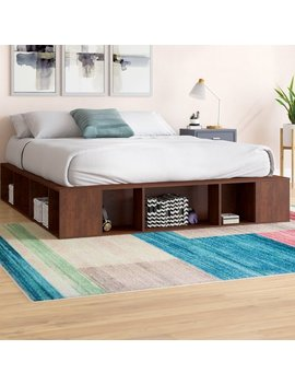 Mercury Row Mcelvain Storage Platform Bed & Reviews by Mercury Row