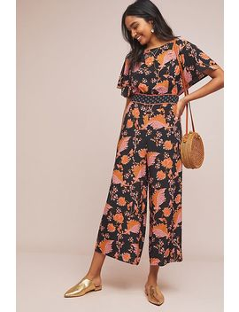 Rowena Botanical Print Jumpsuit by Maeve