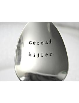 Cereal Killer Spoon. A Little Humor With Your Breakfast. Father's Day, Birthdays. Kids Of All Ages :) by Etsy