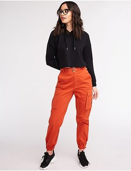 Belted Cargo Pants by Charlotte Russe
