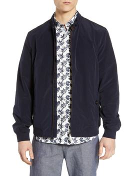 Aroma Slim Fit Bomber Jacket by Ted Baker London