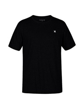 New Hurley Men's Icon Dri Fit Ss Tee Crew Neck by Hurley