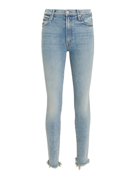 Stunner Walking On Water Ankle Chew Jeans by Mother