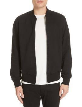 lightweight-cotton-bomber-jacket by ps-paul-smith