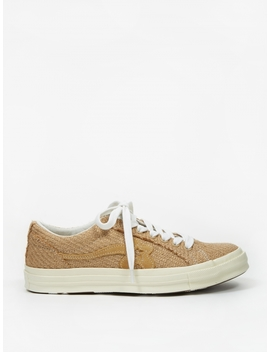 X Golf Le Fleur One Star   Curry/Curry/Egret by Converse