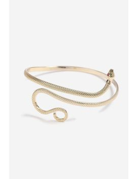 **Snake Wrap Arm Cuff by Topshop