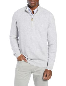 Classic Fit Cashmere & Linen Sweater by Peter Millar