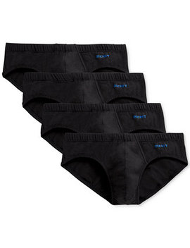 Men's 4 Pack Stretch Cotton Bikini Briefs by 2(X)Ist