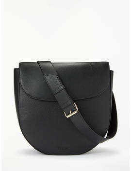 Modalu Sofia Leather Shoulder Bag, Black, Black by Modalu