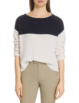 Colorblock Cashmere Sweater by Atm Anthony Thomas Melillo