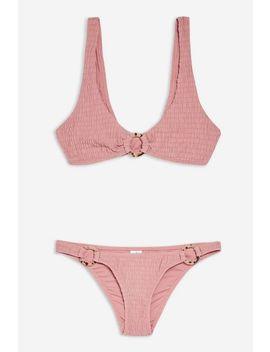 Tortoiseshell Ring Bikini Set by Topshop