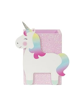Sass And Belle Betty The Rainbow Unicorn Pen Pot by Sass & Belle
