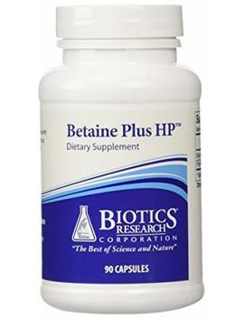 Biotics Research Betaine Plus Hp    90 Capsules by Biotics