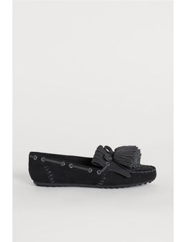 Moccasins With Fringes by H&M