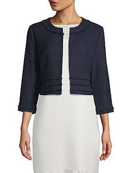Four Pocket Jacket by Karl Lagerfeld Paris