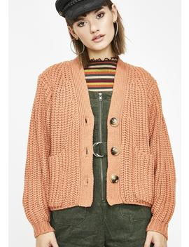 Cali Funk Oversized Cardigan by Cotton Candy