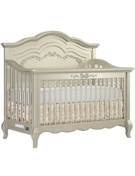Evolur Aurora 5 In 1 Convertible Crib, Metallic Gold Dust by Evolur
