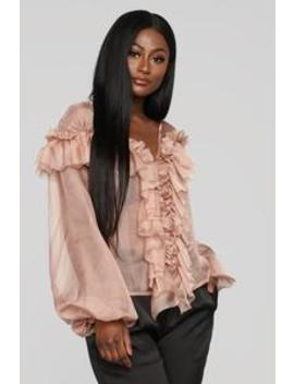 Sweet Temptations Top   Dark Rose by Fashion Nova