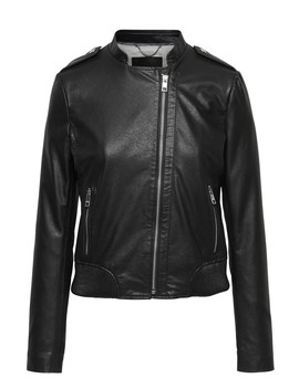 Vegan Leather Jacket by Banana Repbulic