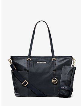 Jet Set Large Nylon Diaper Bag by Michael Michael Kors