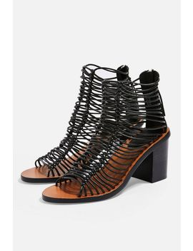 Narly Smart Heeled Sandals by Topshop