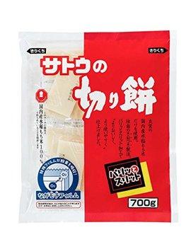 Satou No Kirimochi Parittosuritto (Crunchy And Easy To Cut) 700g by Satoh No Kirimochi