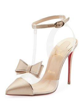 Naked Bow Red Sole Pumps by Christian Louboutin
