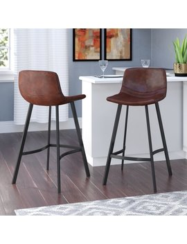 "Langley Street Skyler 30"" Bar Stool & Reviews by Langley Street"