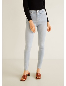 High Waist Soho Jeans by Mango