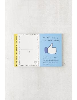 Sorry I Farted And 24 Other Apology Postcards By Knock Knock by Urban Outfitters