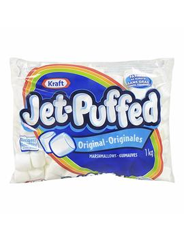 Jet Puffed Marshmallow White   1 Kg by Amazon