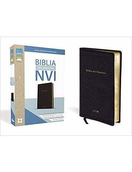 Biblia Del Ministro Nvi (Spanish Edition) by Zondervan