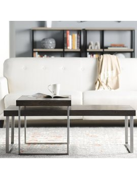 Mercury Row Asine 2 Piece Coffee Table Set & Reviews by Mercury Row