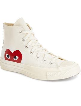 X Converse Chuck Taylor® Hidden Heart High Top Sneaker by Comme Des GarÇons Play