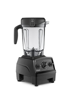 Vitamix Explorian Blender, Professional Grade, 64 Oz. Low Profile Container, Black (Certified Refurbished) by Vitamix