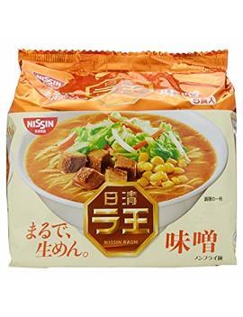Nissin   Raoh Japanese Instant Ramen Noodles Miso 17.1oz (For 5 Bowls) by Nissin