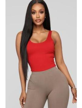 Tanya Bodysuit   Red by Fashion Nova