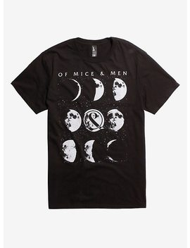 Of Mice &Amp; Men Moon Phases T Shirt by Hot Topic