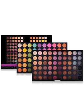 Shany Ultimate Fusion Eyeshadow Palette (120 Color Eyeshadow Palette, Natural Nude And Neon Combination), Net Wt. 120g by Shany Cosmetics