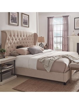 Canora Grey Lora Upholstered Bed & Reviews by Canora Grey