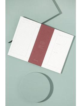 Notem Milo Planner by Anthropologie