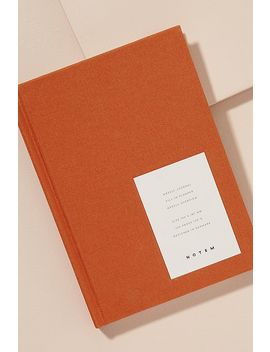 Notem Weekly Journal by Anthropologie