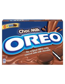 Milk Chocolate Fudge Covered Oreo Cookies   1 Box   by Oreo