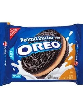 Oreo Cookies Peanut Butter 15.25 Oz by Oreo's At The Neighborhood Corner Stor