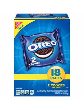 Oreo Chocolate Sandwich Cookies   30 Snack Packs (120 Cookies Total) by Oreo