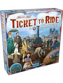 Ticket To Ride: France/Old West Map 6 by Amazon