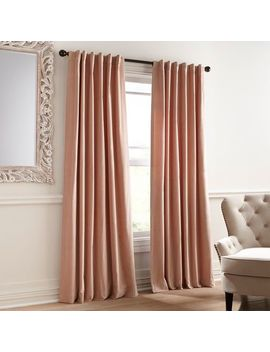 Sheridan Velvet Blush Curtain by Pier1 Imports